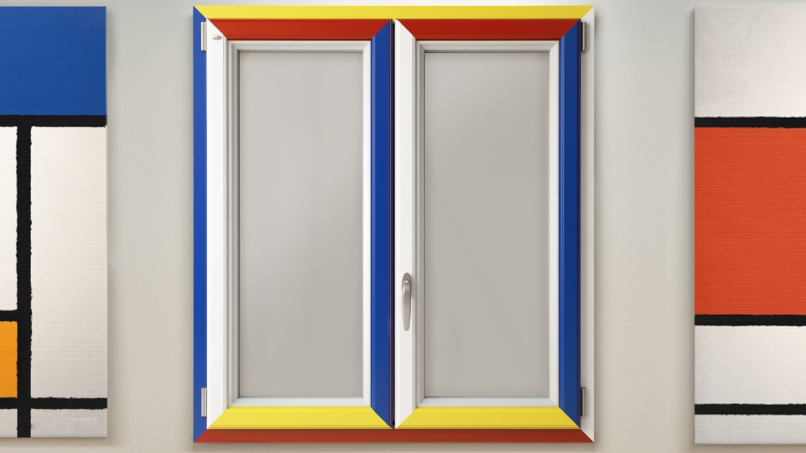 Finestre Nurith - Mondrian